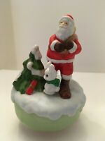 """Santa Music Box """"Here Comes Santa Claus"""""""