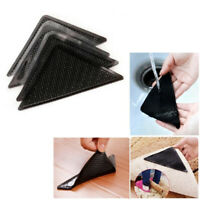 4/8PCS Rug Corners Anti Slip Stopper Self-adhesive Carpet Corner Gripper Pads