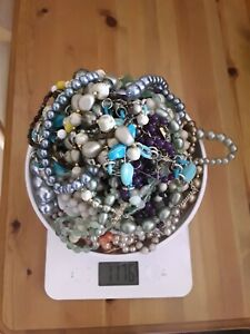 Joblot Of Broken Jewellery for Crafts