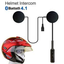 Bluetooth Helmet Headset Speaker Headphone for Motorcycle Motorbike Intercom
