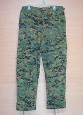 Tru-Spec Usmc Woodland Marpat Camo Pants Trousers Mccuu Size Medium Regular