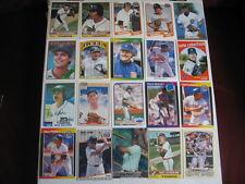 Lot of 20 Detroit Tigers baseball cards. 1970s-present, HOF, chrome