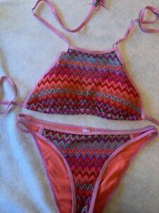 FB Sister / Bikini / Pink / Netz / Neuzustand Gr. 38