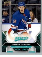 2020-21 UD MVP Hockey #217 Artemi Panarin New York Rangers  Official Upper Deck