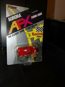 TOMY AURORA AFX GMC PICK UP #8765 RED #35 SLOT CAR NEW OLD STOCK 1989