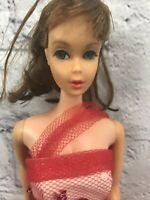 Vintage 1966 Mattel Mod Barbie Doll Ash Blonde Twist 'N Turn Japan