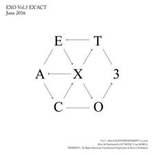 """K-POP EXO 3th Album """"EX'ACT"""" [ 1 Photobook + 1 CD ] Korean Ver"""