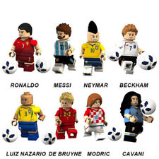 8PCS Fifa World Cup MESSI Football Custom Mini footballer figure LEGO