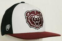 Missouri State University Bears Maroon TOW Flat Bill Snapback Baseball Hat Cap