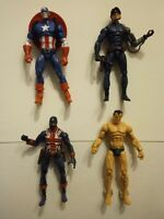 Marvel Universe The Invaders 3.75 Inch Action Figure Collection! Captain America
