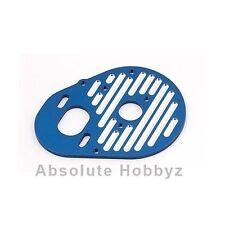 Team Associated Motor Plate, Milled (Blue) (B4/T4) - ASC1770