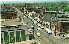 Aerial View Downtown Sault Ste. Marie - Chrome Unused 60's - Fair Crease