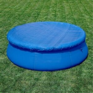 Round Pool Cover Protector Intex 6 8 10 12 ft Foot Above Ground Blue Protection