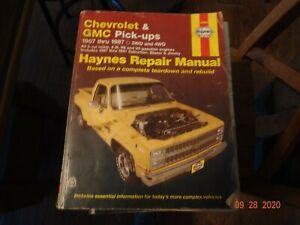1967-1987 Haynes Chevrolet Truck Repair Manual