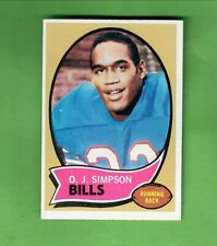 1970 TOPPS FOOTBALL #90 O. J. SIMPSON ROOKIE CARD BUFFALO BILLS EX+