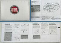 Fiat Sedici Betriebsanleitung Bedienungsanleitung 02/2011
