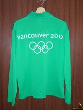 WOW! WORN Olympic Games 2010 Vansouver Torch Relay Shirt Jersey Maglia CANADA