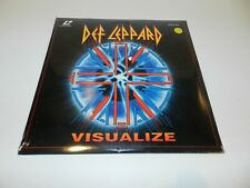 Def Leppard Visualize Music LaserDisc Laser Disc Brand New Sealed