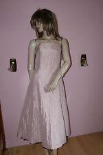 Zartes Kleid*Partykleid*Ballkleid*Abschlußball bildschön Tüll-Volants rosé 38
