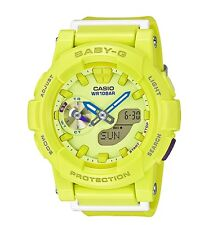 Casio Baby-G * BGA185-9A Anadigi Runner Lime for Women COD PayPal