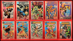 Firestorm The Nuclear Man 10 Comics Lot! #50-59 (1986) DC VF+ NM/M+!