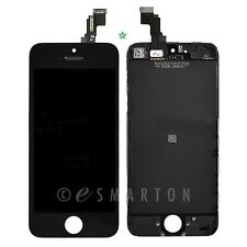 Black iPhone 5C LCD Front Display Touch Sreen Digitizer Mid Frame Assembly Part