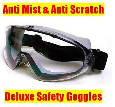 Galactic Deluxe Safety Goggles - Wide Vision - Anti Scratch & Anti Mist / Fog