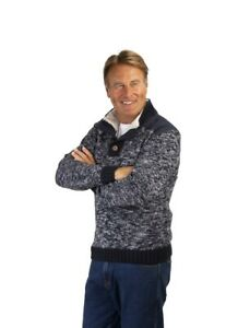 ASCOT HIGH NECK WITH SHERPA LINING MARL JUMPER
