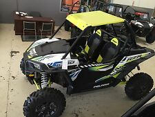 Polaris RZR XP 1000 LIME SQUEEZE Aluminum  Roof + Lower Half Doors 2017-2018