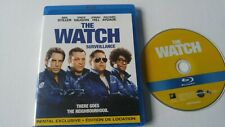 The Watch Blu ray Ben Stiller Vince Vaughn rental exclusive comedy