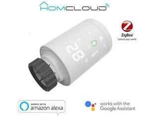 Homcloud Domotica Valvola termostatica radiatori Smart digitale zigbee XH-TVZ