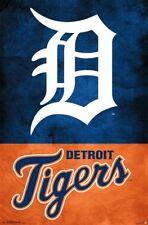 DETROIT TIGERS - LOGO POSTER - 22x34 - MLB BASEBALL 16511
