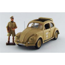 VW MAGGIOLINO AFRIKAKORPS LIBIA 1941 WITH ROMMEL AND DRIVER FIGURES 1:43 Rio