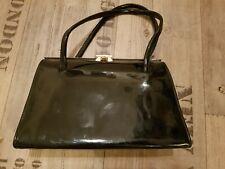 Vintage patent leather handbag. Handmade. Excellent condition.