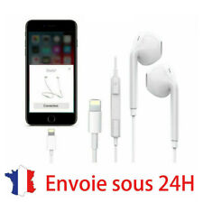 Ecouteurs IPHONE 7 lightning Bluetooth Plus 8 Xs Micro fonction et controle beat