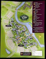 NEW 2021 Walt Disney World Port Orleans French Qtr Map + 4 Theme Park Guide Maps