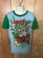 BOY'S TOY STORY PAJAMA TOP-SIZE: 10