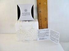 Avon Silvertone Monarch Petals Earrings