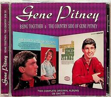 Gene Pitney -2-LP Albums On 1 CD (Being Together & The Country Side of) 2on1
