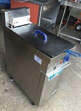 STOTT BENHAM AUTOFRY300 STAINLESS STEEL 3PHASE 1 BASKET FRYER VAT Inc