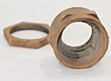 52 mm Bronze Rudder Shaft Stuffing Gland Packing Box Nut Bead Blasted