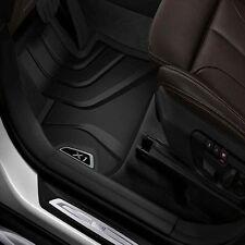 BMW Black All Season Floor Mats Front & Rear 2016-2017 X1 28i 28iX 51472365853