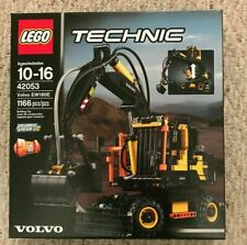 LEGO Technic 42053 Volvo EW160E Loader 2 in 1 pneumatic system Sealed RETIRED