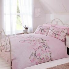 ELOISE FLORAL KING DUVET COVER & PILLOWCASE SET BEDDING PINK