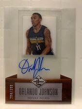 2012-13 Limited #223 Orlando Johnson RC AUTO #290/399