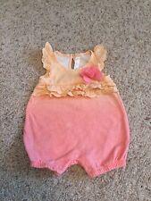 Baby Girl Newborn Sunsuit Cherokee Brand