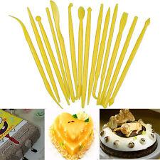 14PC/Set Flower Modeling Craft Fondant Cake Decorating Clays Sugarcraft Tool WOW