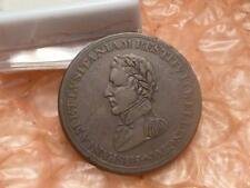 1812 LOWER CANADA HALF PENNY TOKEN MARSHAL WELLINGTON CUIDAD SALAMANCA - #4