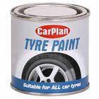Black Tyre Paint Tire Brush On Shine New Look Restorer 250ml Carplan