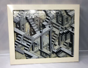 Vtg PARADOX PUZZLE The World's Most Difficult 3D JIGSAW PUZZLE Crystal Lines